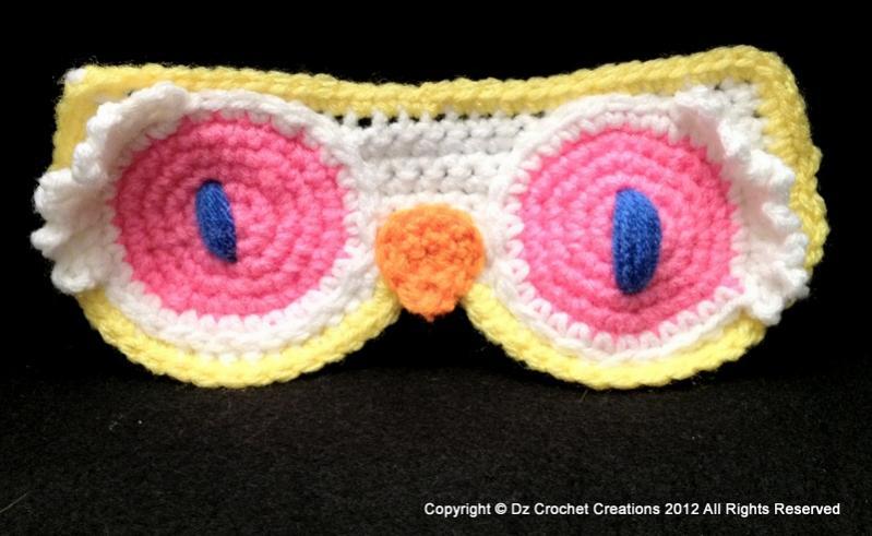 How to Crochet a Night Owl Eye Mask - Part 2-photo-3-28-jpg