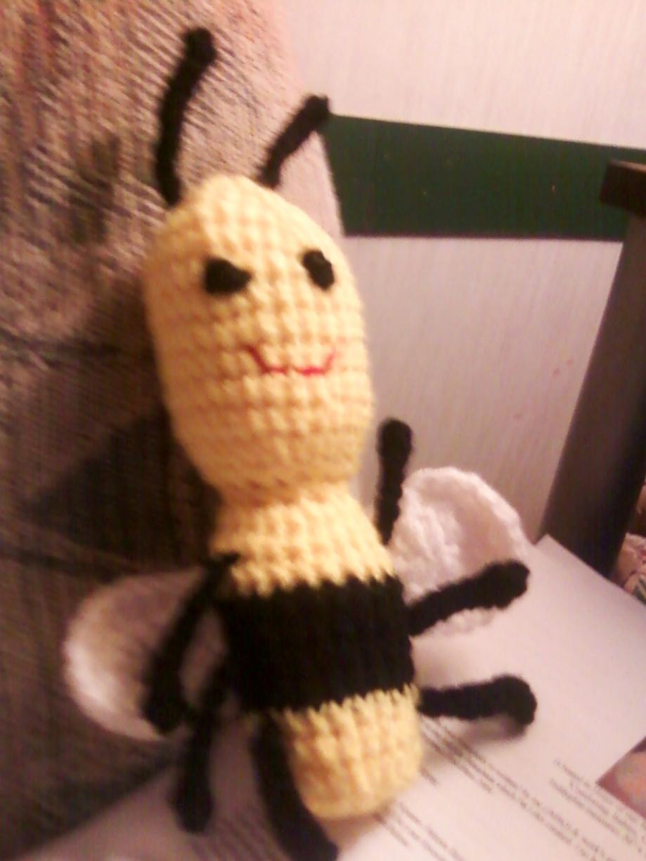 What crochet or knitting projects are you working on?-bee-jpg