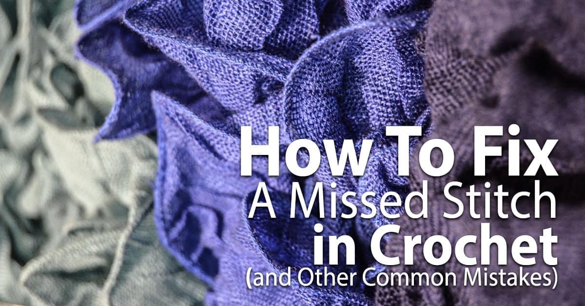 Violet crochet item