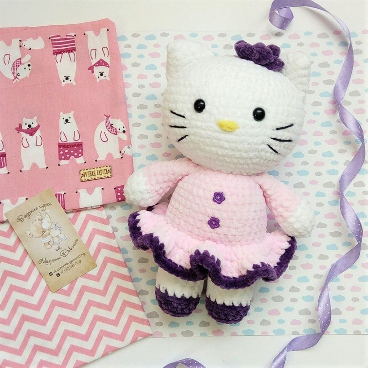 Hello-Kitty-Crochet-Pattern